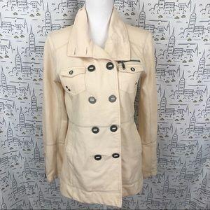 HURLEY Lightweight Double Breasted Fleece Jacket